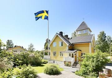 Ytterbystrandsvägen; Vaxholm